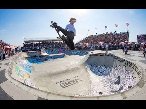 Pool Skating Mayhem from Huntington Beach | Vans Park Series 2017 - Red Bull