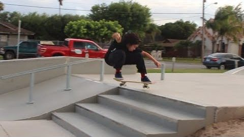 POP Redemption- JP OLLIE UP 4 STAIR - MAJER Crew