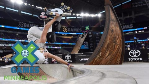 Poppy Starr Olsen wins Women's Skateboard Park bronze | X Games Minneapolis 2017 - X Games