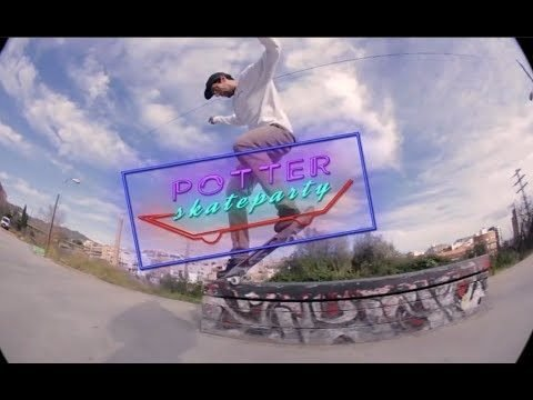 Potter Skate Party en La Bobila DIY - elpatincom