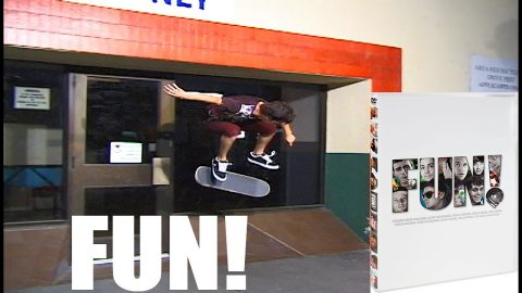 Powell FUN w/ Josh Hawkins in California (2008) | A Happy Medium Skateboarding