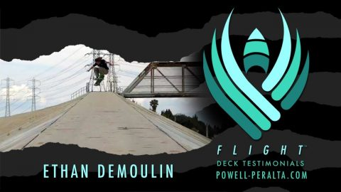 POWELL PERALTA | ETHAN DEMOULIN | FLIGHT | Powell Peralta