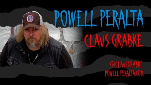 Powell Peralta - Limited Edition Claus Grabke Deck | Powell Peralta