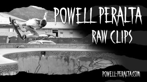 Powell-Peralta 'Raw Clips' - Andy Anderson is a Ripper | Powell Peralta