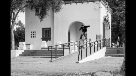 Powell-Peralta 'Raw Clips' - Andy Anderson Boardslide to Fakie | Powell Peralta