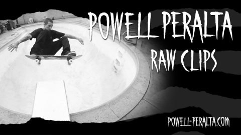 Powell-Peralta 'Raw Clips' - Pool Session In The Rain | Powell Peralta
