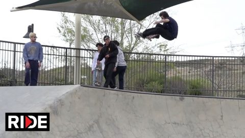 Powell-Peralta | Santa Clarita Skatepark | RIDE Channel