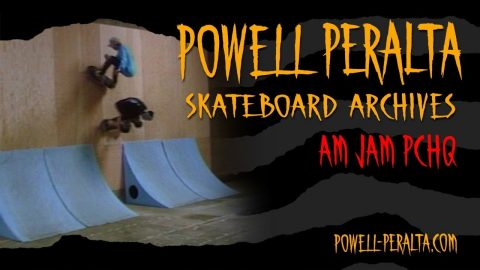 Powell Peralta Skateboard Archives - Am Jam at PCHQ 1988 - Powell Peralta