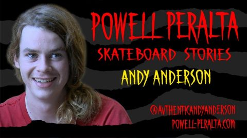 Powell Peralta Skateboard Stories - Andy Anderson - Powell Peralta