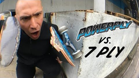 POWERPLY VS 7 PLY! | Santa Cruz Skateboards