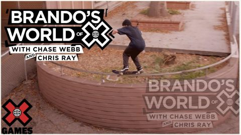 PRANKING CHASE WEBB AND CHRIS RAY: Real Street 2020 | World of X Games | X Games