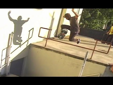 Precision No Comply Raily Over Doorway Drop!! Behind the Clips - Jordon Graham - Metro Skateboarding