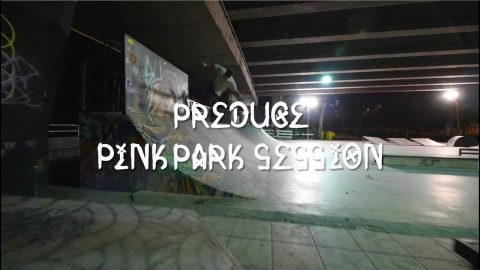 Preduce Skateboards Pink Park Team Session - preduce skateboards