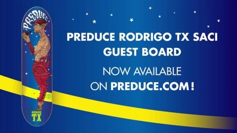 "Preduce X Rodrigo TX ""Saci"" guest board 