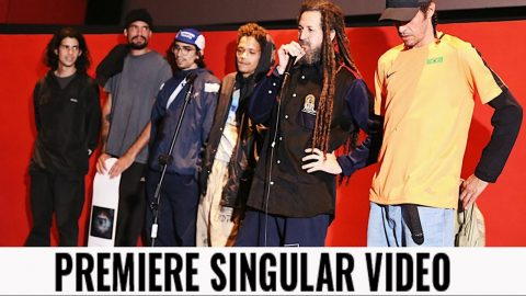 Premiere Singular Video no Cine Olido (SP) | CemporcentoSKATE