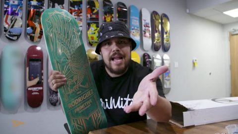 Primitive Reserve Subscription Unboxing - Primitive Skate