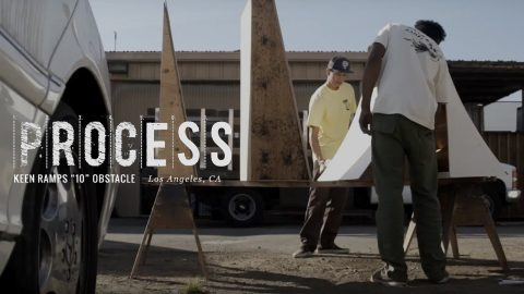 "Process: Keen Ramps - ""10"" Obstacle - The Berrics"