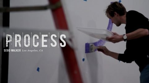 Process: Sebo Walker's Berrics Mural - The Berrics