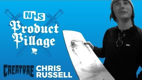 Product Pillage: Chris Russell | Creature Skateboards - Creature Skateboards