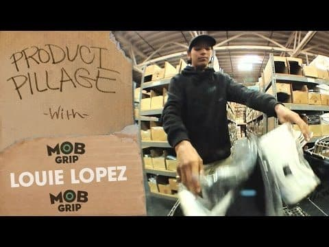 Product Pillage: Louie Lopez Raids the Warehouse | MOB Grip - Mob Grip