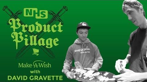 Product Pillage: Make-A-Wish with David Gravette | Creature Skateboards