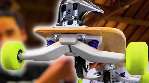 PROFESSIONAL FREEBORD TEST! | Braille Skateboarding