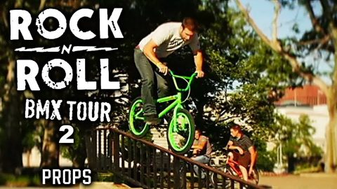 Props BMX: Road Fools Rock-n-Roll Tour 2 - Props Visual - Full Movie - Mat Hoffman, Mike Aitken | Echoboom Sports