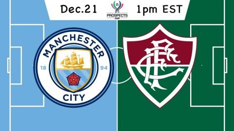 Prospects Cup International Championship: Manchester City vs. Fluminense - Network A