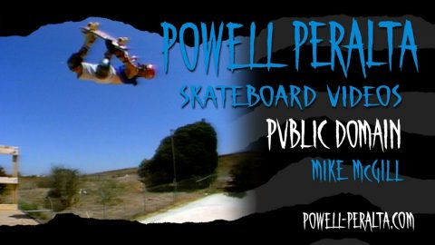 PUBLIC DOMAIN CH. 7 MIKE McGILL | Powell Peralta