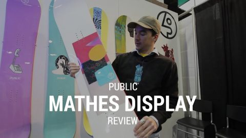 Public Mathes Display 2019 Snowboard Review - Tactics.com - Tactics Boardshop