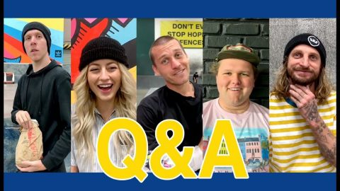 Q&A Compilation with Donovan Strain, SkateMosss, David Reyes, Lizard King, & Bo Mitchell | The Berrics