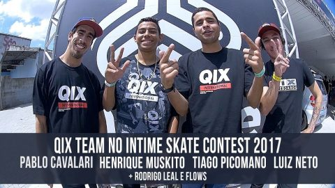 QIX TEAM NO INTIME SKATE CONTEST 2017 - QixTV