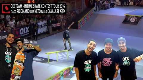 QIX Team no InTime Skate Contest 2016 - QixTV
