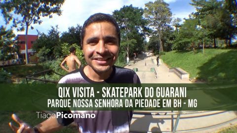 QIX Visita Pista do Guarani em BH - MG - QixTV
