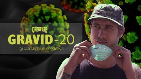 Quarantine Sessions with David Gravette and Fiends! | Creature Skateboards