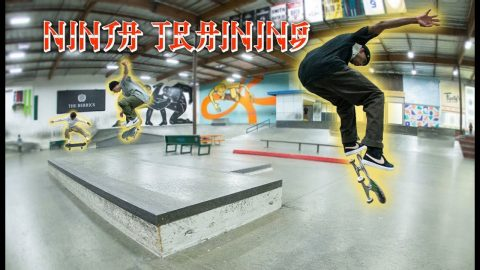 Quick Footed Brazillians Put Their Skills To The Test | Ninja Training | The Berrics