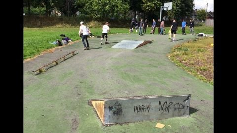 Raiders of the Lost Park 3 - Fartown skatepark, Huddersfield - Sidewalk Mag