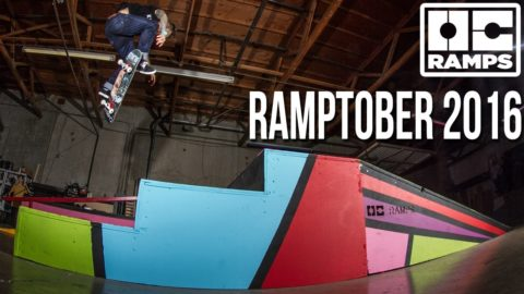 Ramptober 2016 - Live bands, 80's themed skateboard event party!