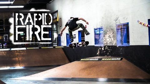 Rapid Fire: Taylor McClung at Woodward Copper - Woodward Camp