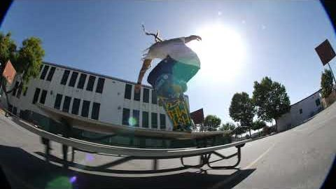 RAW CLIPS: Neen Williams Skates 3 Spots In LA | CCS