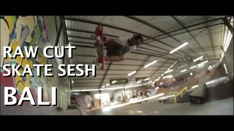 raw cut FUN skate sesh bali | Pevi Permana