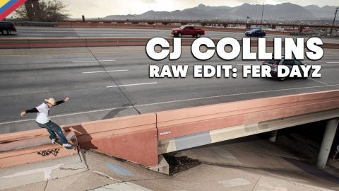 RAW EDIT: CJ Collins FER DAYZ Video Part | Red Bull Skateboarding