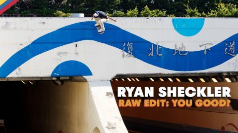 RAW EDIT: Ryan Sheckler YOU GOOD? Video Part | Red Bull Skateboarding