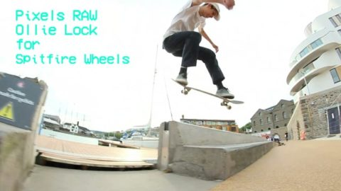 RAW: Ollie Lock for Spitfire Wheels - Vimeo / Pixels's videos