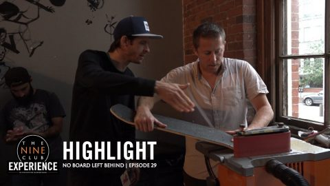 Re-Shape a Used Skateboard into a Custom Cruiser | No Board Left Behind | The Nine Club Highlights