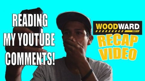 READING MY YOUTUBE COMMENTS / WOODWARD WEST RECAP VIDEO!! - Vinh Banh