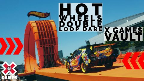 REAL LIFE HOT WHEELS CAR LOOP | World of X Games | X Games