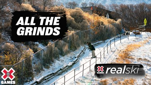 REAL SKI 2021: All The Grinds | World of X Games | X Games
