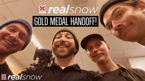 REAL SNOW 2020: Gold Medal Handoff | X Games | X Games