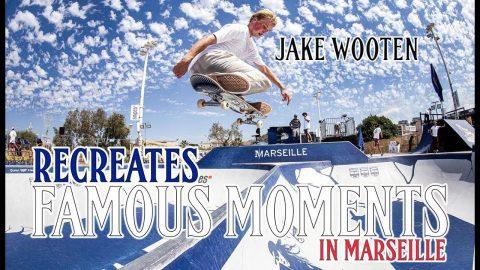 Recreating A Few Of Marseille Bowl's Famous Moments with Jake Wooten | The Berrics